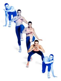 No-equipment #workout: Capoeira Reverse Lunge and Push Kick