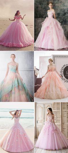 Fancy princessy dresses (Sleeping Beauty)