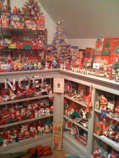 Fabulous vintage Christmas room (not mine - I wish!!)