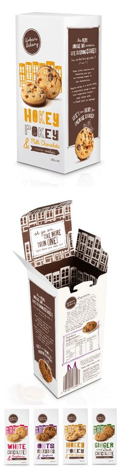 Urban Bakery - #packaging #design