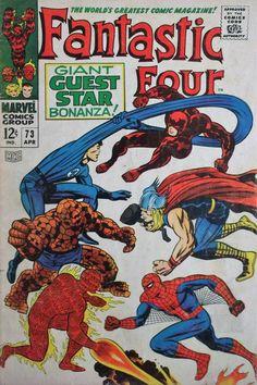71,74,77,92,95 1967 daredevil Spider-Man Howard,more Marvel Comic Books 6