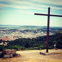 A Sunday afternoon with a fantastic view in #Stuttgart #Birkenkopf #Germany