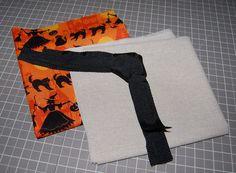 Halloween Trick or Treat Bag Pattern