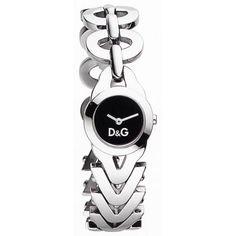 Montre bijou DOLCE & GABBANA femme, bracelet acier design.