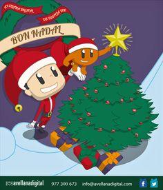 Bon Nadal des d'Avellana Digital!! Us desitjem molt bones festes! #Bonnadal #bonesfestes