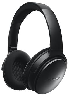 The Bose® QuietComfort® 35 Noise Cancelling® wireless headphones are the wireless version of their extremely popular range of noise cancelling headphones. Black.