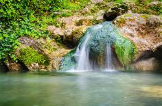 Spring: Hot Springs National Park, Arkansas