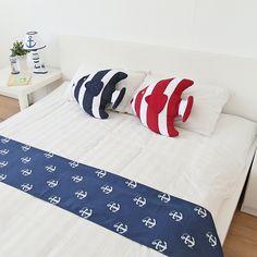 Equipamiento del hogar estilo mediterráneo almohada decorativa, bolste peces tropicales, peces en forma de cojín del sofá, almohada cintura 45 * 40 * 7cm