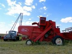 Image detail for -Pictures-Experimental  Combine In Kansas. Not your every-day Ford