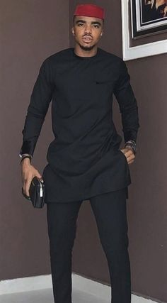 African men ankara styles and designs - DarlingNaija African Male Suits, African Wear Styles For Men, African Shirts For Men, Ankara Styles For Men, African Dresses Men, African Attire For Men, African Clothing For Men, African Clothes, Clothing Styles For Men