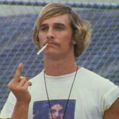 Matthew mcconaughey dazed and confused , . Comme Des Freres, 1990 Style, Spotify Playlist, Film Serie, Movie Quotes, Retro, Just In Case, Movie Tv, 90s Movies