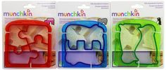 Amazon.com: Munchkin Silly Sandwich Cutter Set, 3 count: Baby