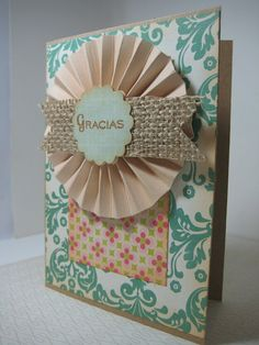 gracias+card+thank+you+card+spanish+thank+by+ArasPaperCreations, #papercrafts #echopark #ep #this #cardmaking #spanishcards #cards #handmade #crafts