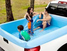 Gone are those days when tarps and bungee cords were your best camping accessory with the Pickup Pools.
