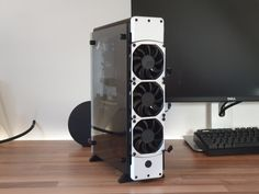 Blackbird - Mini ITX Scratch built PC project | 3D CAD Model Library | GrabCAD