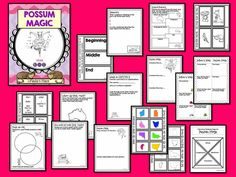 Possum Magic {book by Mem Fox} Activities