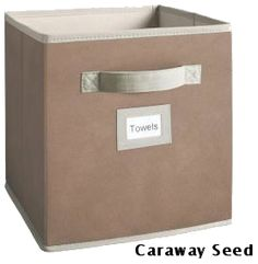 The Martha Stewart Living Fabric Drawer is ideal for holding toys, books and miscellaneous household items. You'll love the versatility of this fabric drawer. Place several in your closet, kitchen or Cube Storage, Storage Bins, Storage Drawers, Storage Ideas, Organization Skills, Closet Organization, Home Depot Projects, Fabric Drawers, Staying Organized