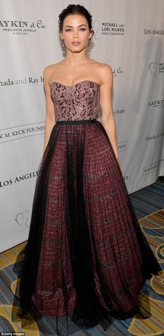 Arrived in style: Jenna Dewan, 37, was spotted arriving at the 12th Annual Los Angeles Bal...