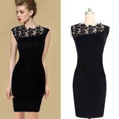 Best Images Sexy Lace Spliced Sleeveless Bodycon Dress of Holiday Craft Ideas for Adults From healths.zade4u.idwp.biz By http://staskka.biz