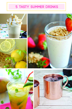 5 Tasty Summer Drink