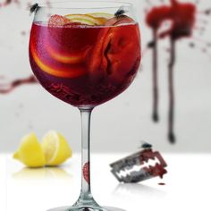 SANGRIA??? by davidowens. #horror #digital #photo #art #blood #sangria