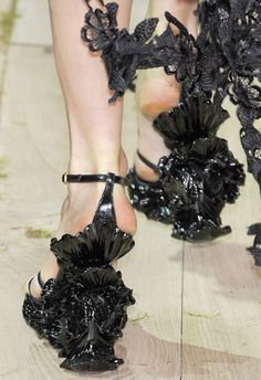 Alexander McQueen, oh my god! There art on your feet! ....but pedi beforehand