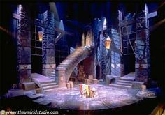 constructed set Man of La Mancha set designs at the University of Cincinnati College Conservatory of Music by Thomas Umfrid