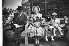 Holiday At Blackpool In The 1950's.
