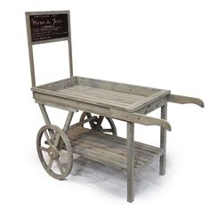 This market cart is the cutest-hmmmm, what to use it for...