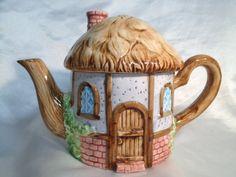 Vintage English Cottage Teapot. $20.00, via Etsy.