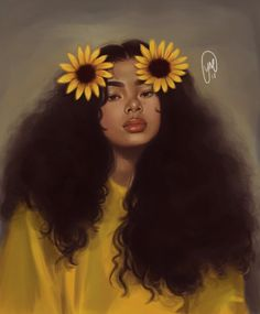27 Ideas Wallpaper Fofos Preto Girassol For 2019 Black Love Art, Black Girl Art, Cartoon Kunst, Cartoon Art, Wallpaper Fofos, Wallpaper Art, Drawings Of Black Girls, Black Girl Cartoon, Black Art Pictures