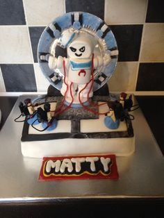Lego dimensions ghostbusters cake !