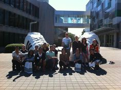 PENSOLE students visiting the Adidas Village!