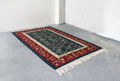 Vintage Handmade Woven Thin Wool Traditional by WestEstShop