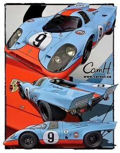 Porsche Gulf