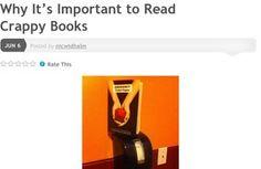 Even crappy books deserve love