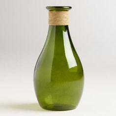 One of my favorite discoveries at WorldMarket.com: 15.5' Green Teardrop Seville Vase