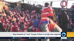 """Italy threatens to """"hurt"""" Europe if there's no help over migrants"""