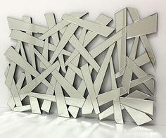 #Espejo Moderno de formas irregulares 120X80cm