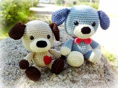 Smartapple Creations - amigurumi and crochet: Sammy the Puppy crochet pattern is available
