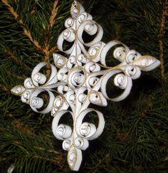 Glittered edge Snowflake 8 by Elenatgeezer, via Flickr