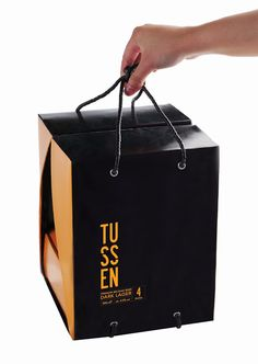 TUSSEN Premium Belgian Beer (Student Project) on Packaging of the World - Creative Package Design Gallery