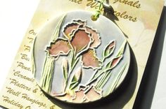 IRIS ornament  For all the times I have been by FaithAnnOriginals