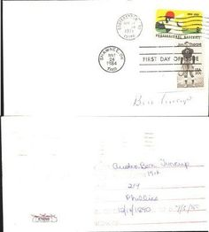 Ben Tincup Philadelphia Phillies Signed FDC Envelope Vintage Phillies JSA COA . $50.00. Philadelphia Phillies PitcherBen TincupHand Signed FDC EnvelopePostmarked Cooperstown, NY April 17th 1971Ben Pitched in the Majors from 1914 - 1928..GREAT AUTHENTIC BASEBALL COLLECTIBLE!!AUTOGRAPH AUTHENTICATED BY JAMES SPENCE AUTHENTICATIONS (JSA) WITH NUMBERED JSA STICKER ON ITEM AND MATCHING JSA CERTIFICATE OF AUTHENTICITY (COA) INCLUDED WITH ITEM. JSA COA #: E78269