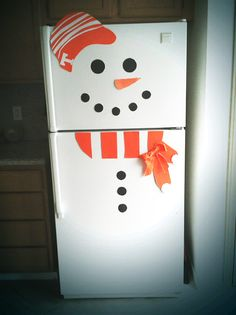 Tennessee Vols snowman How cute would this be for our classroom door this winter! Must do!!!!