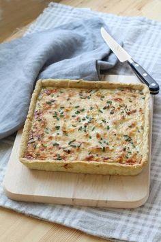 Quiches, Veggie Recipes, Vegetarian Recipes, Healthy Recipes, Easy Cooking, Cooking Recipes, Easy Diner, Quiche Muffins, Pizza Tarts