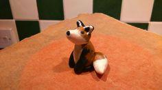 Fox, polymer clay