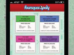 Foursquaropoly