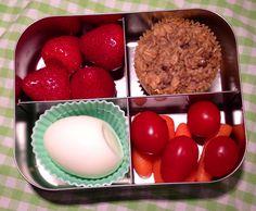 Vegetarian bento lunch #lunchbots