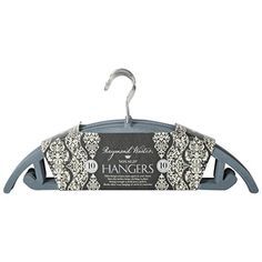 Non-Slip Extra Strong Space Saving Metal Hangers with Felt Cover (Set of 10) (Grey) Raymond Waites http://www.amazon.com/dp/B00TYW27TC/ref=cm_sw_r_pi_dp_IVycvb1RQH7JZ